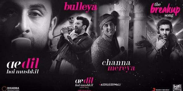 Ae Dil Hai Mushkil music poster (Photo | @karanjohar/ Twitter)
