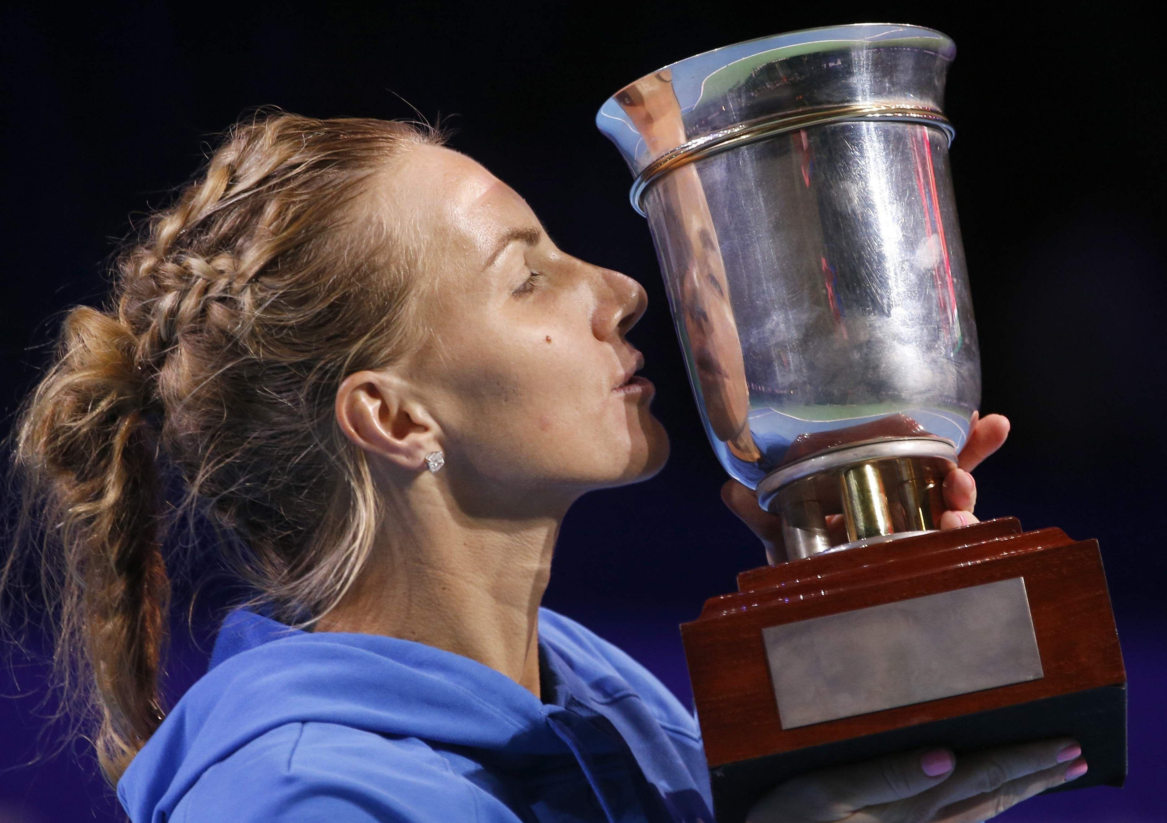 Kuznetsova retains Kremlin Cup title for WTA Finals spot The New
