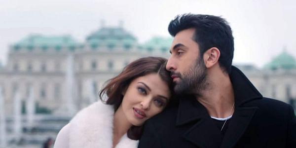 Aishwarya-Rai-Bachchan-Ranbir-Kapoor-in-Ae-Dil-Hai-Mushkil-Movie-Still-2