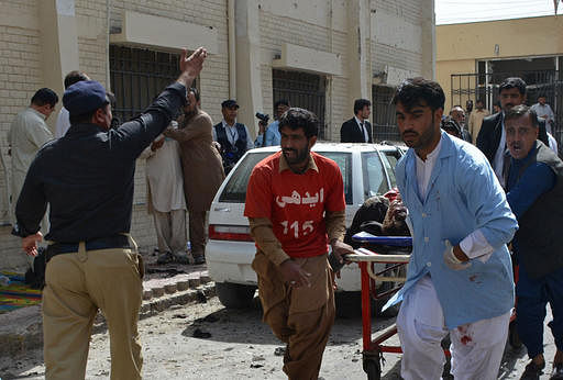 IS claims deadly police center attack in SW Pakistan
