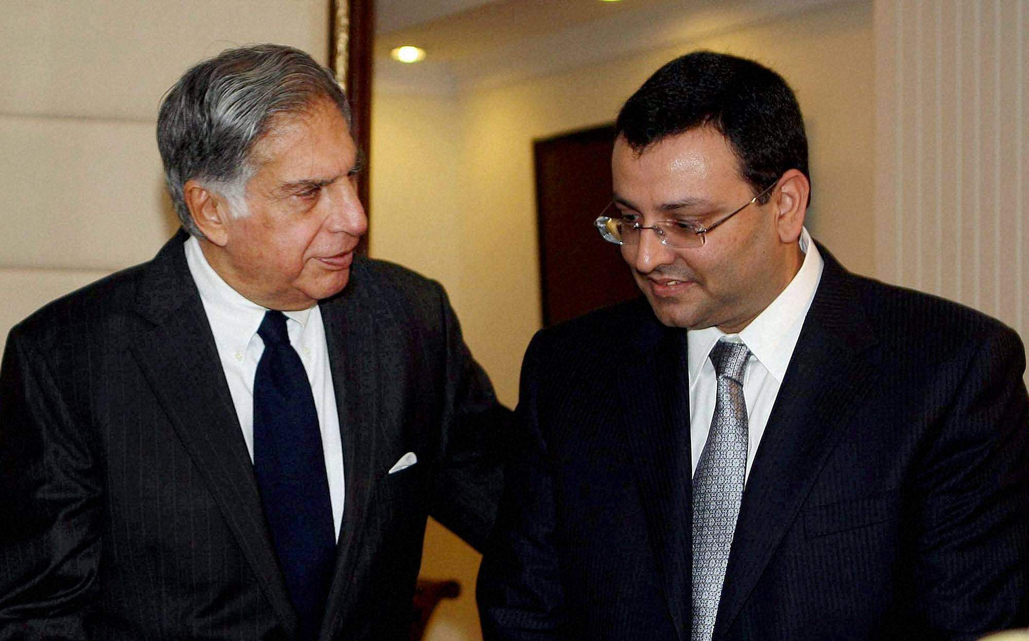 Bitter war of words intensify between Cyrus Mistry and Tata Sons