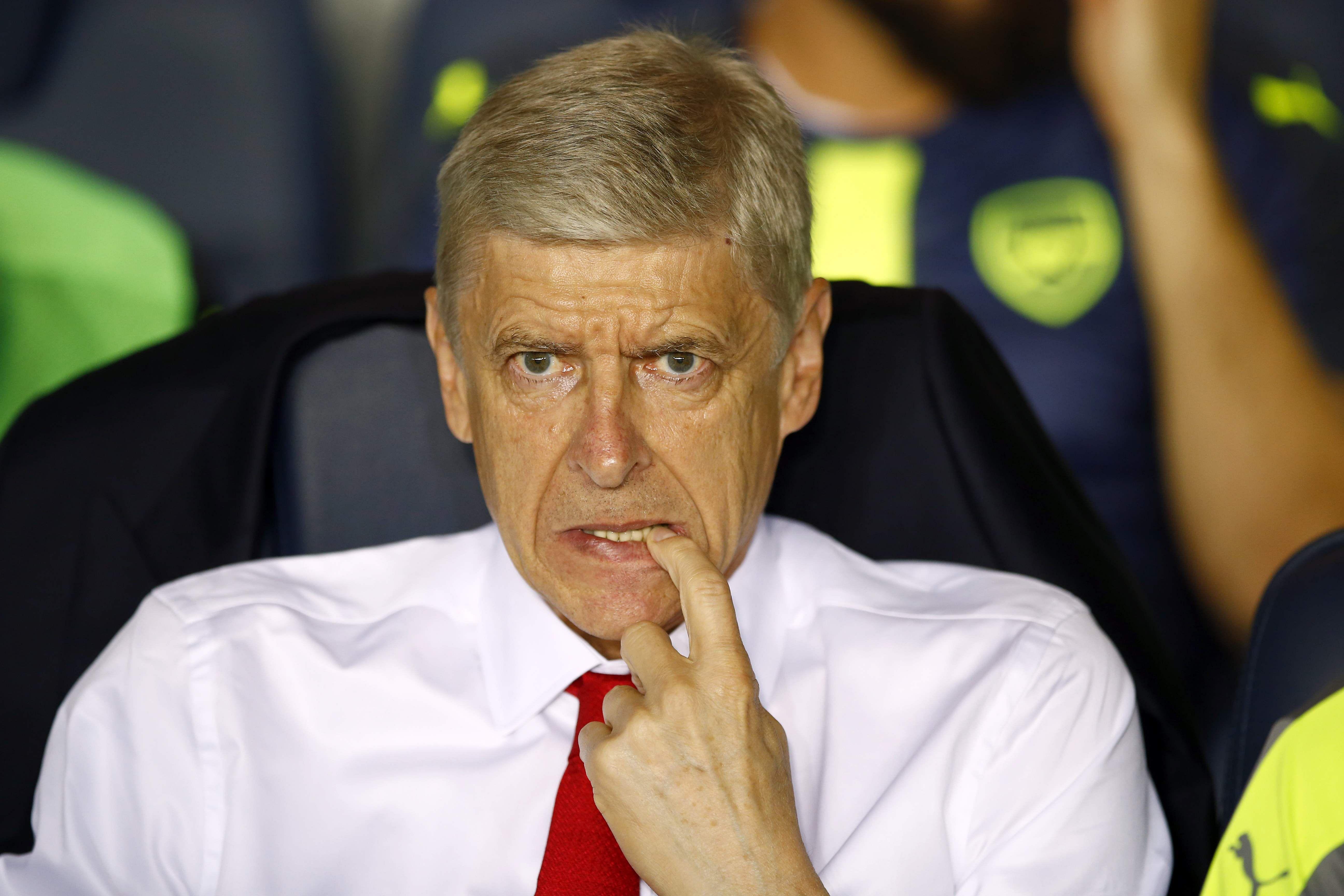 Arsene Wenger was
