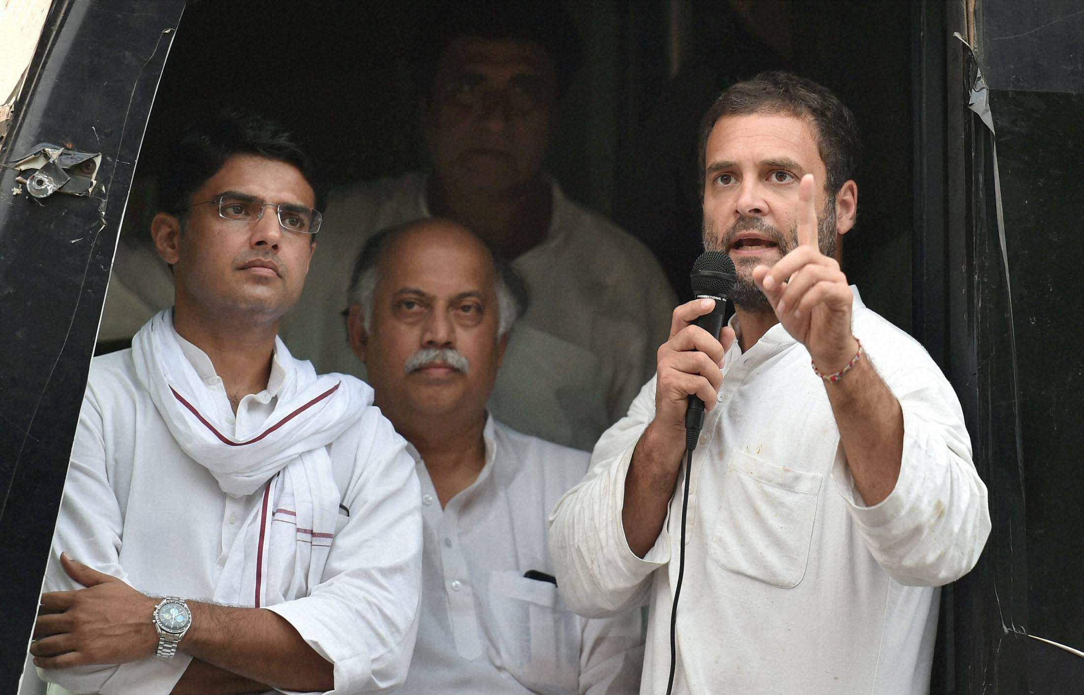 BJP, Cong in war of words over Rahul's dalali barb