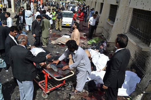 Blast at Sufi shrine in Pakistan kills 10, wounds dozens