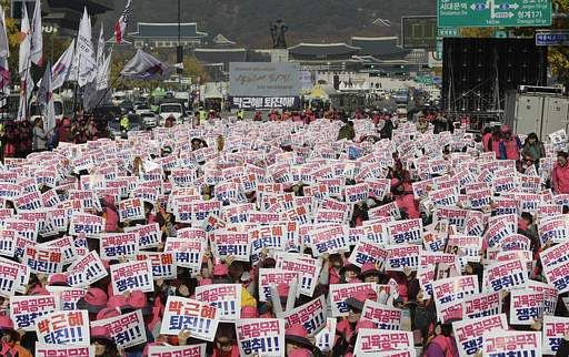 Mass Seoul protest to target South Korean President Park Gun-hye