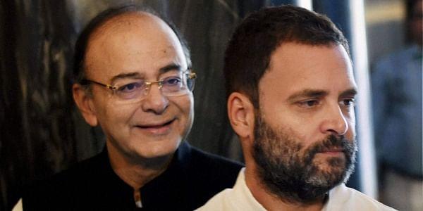 Jaitley-Rahul-Gandhi-PTI