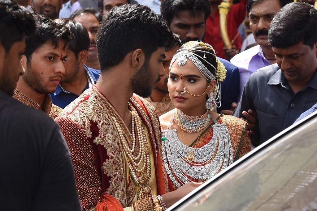 The much hyped Reddy wedding in Bengaluru finally takes place  The