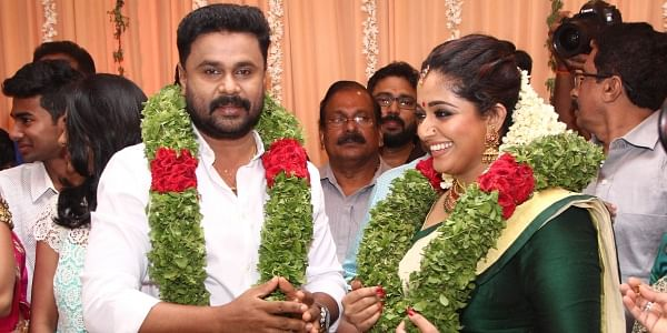 Actors Dileep and Kavya Madhvan put to an end a decade of gossip by finally tying the knot. The superhit pair are now a super couple. (Albin Mathew | EPS)