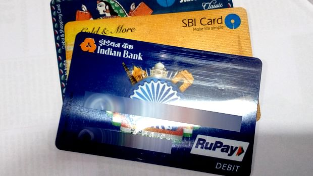 Debit cards acceptable for transport services payments in delhi a photo of debit and credit cards abraham richard m reheart Choice Image