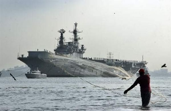 File picture of INS Viraat( EPS)