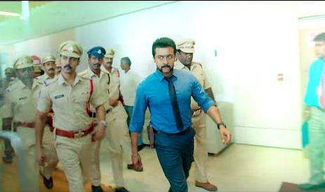 Suryas s3 teaser clocks 2 million views the new indian express actor surya in singam 3 youtube thecheapjerseys Image collections