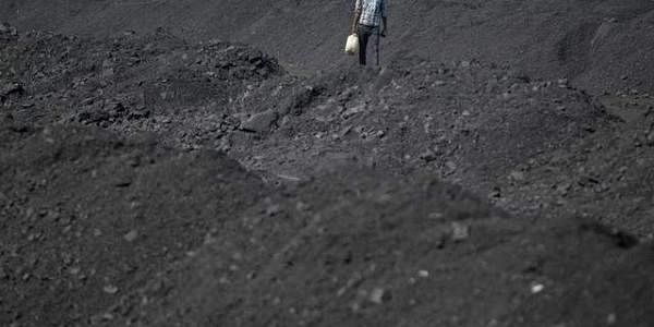 A railway coal yard on the outskirts of Ahmedabad. (File photo | Reuters)
