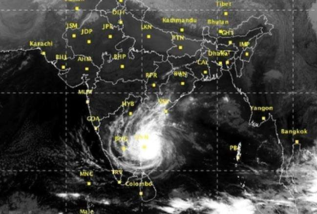 Cyclone alert for Andhra Pradesh Coast