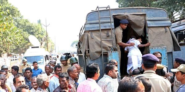 Odisha Farmers' Protest-EPS
