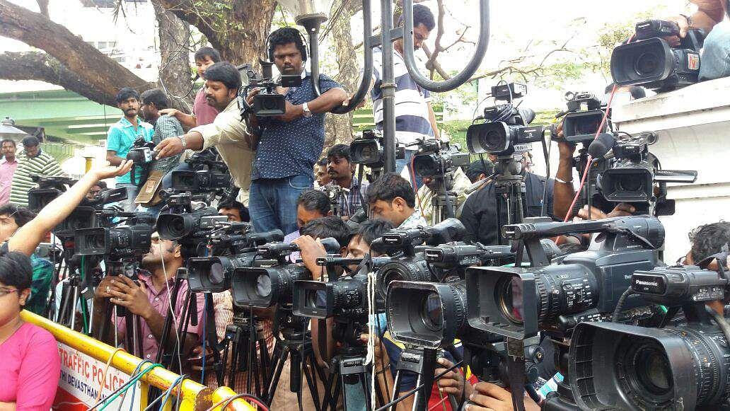 Media persons