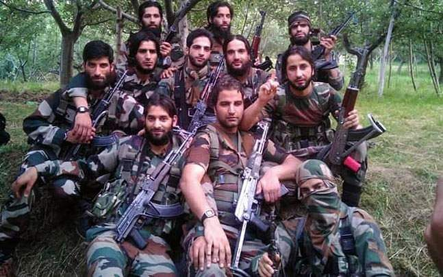 After Video Surfaces, Manhunt Launched To Nab Hizbul Commander In Kashmir