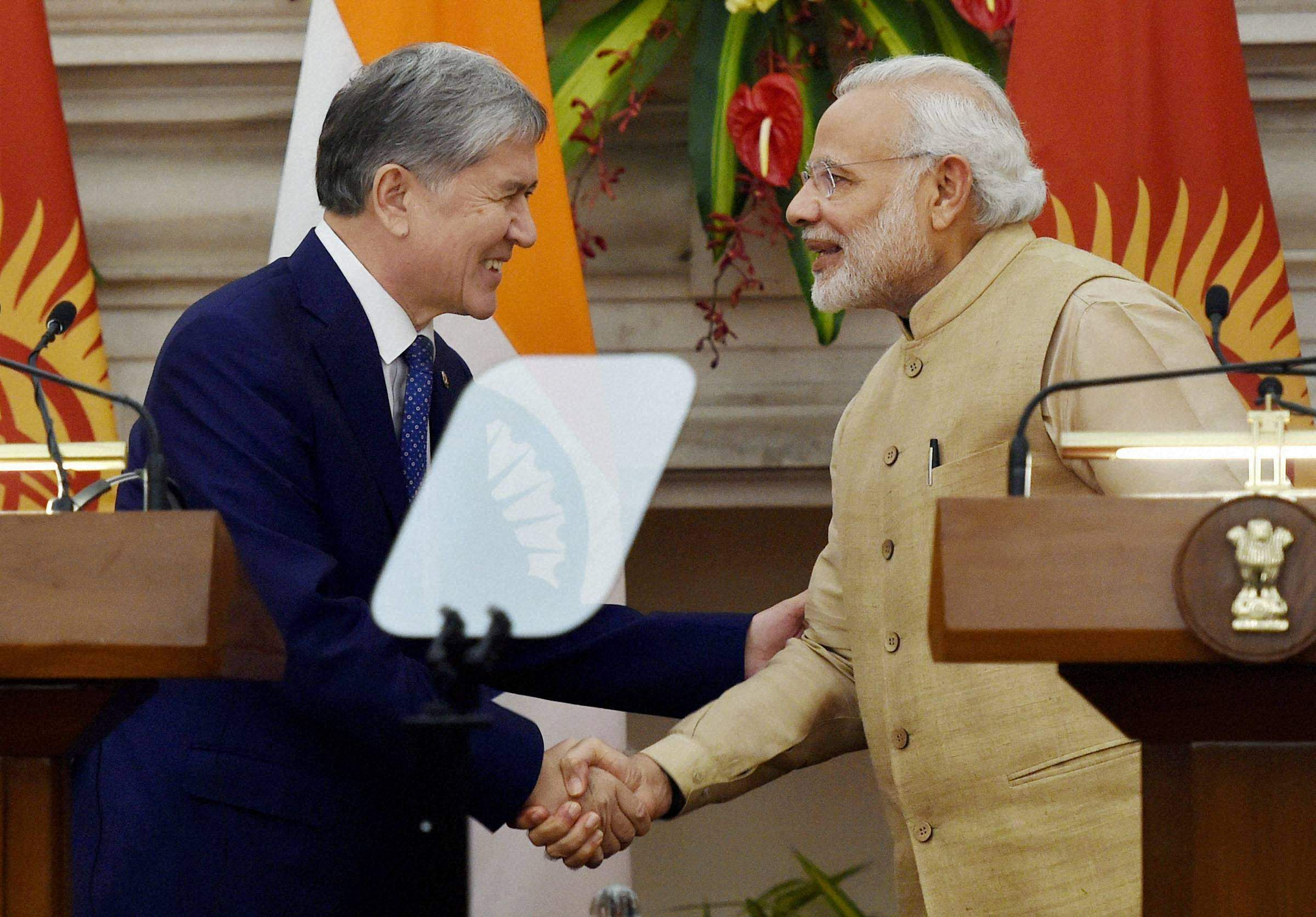 India, Kyrgyzstan to work together against terrorism: PM Narendra Modi