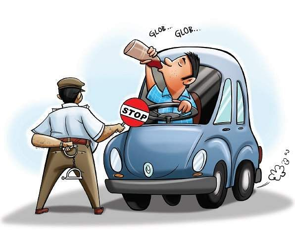 Drunk driving on New Year-eve to attract Rs 2,000 fine- The New ...