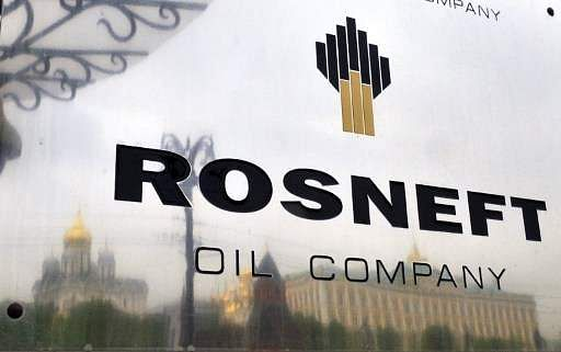 Russian oil company Rosneft. (File photo | AFP)