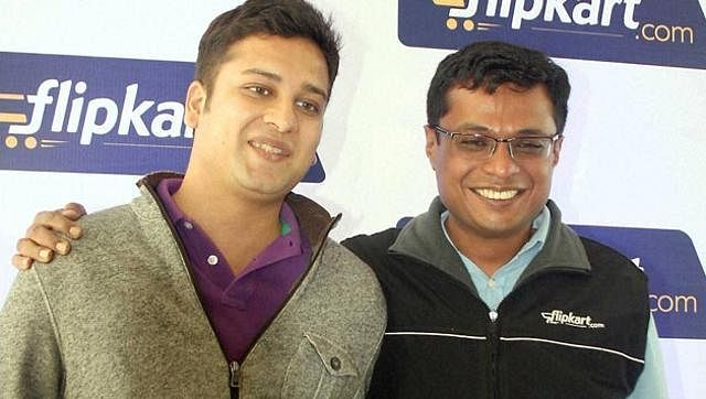 Binny Bansal & Sachin Bansal. (File photo | PTI)