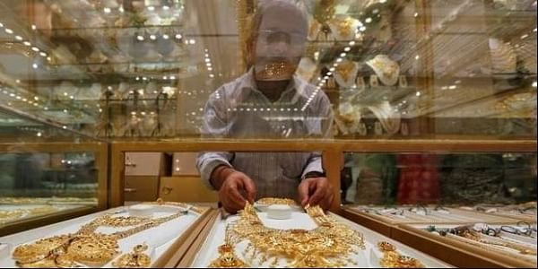 Gold imports have declined 59 percent