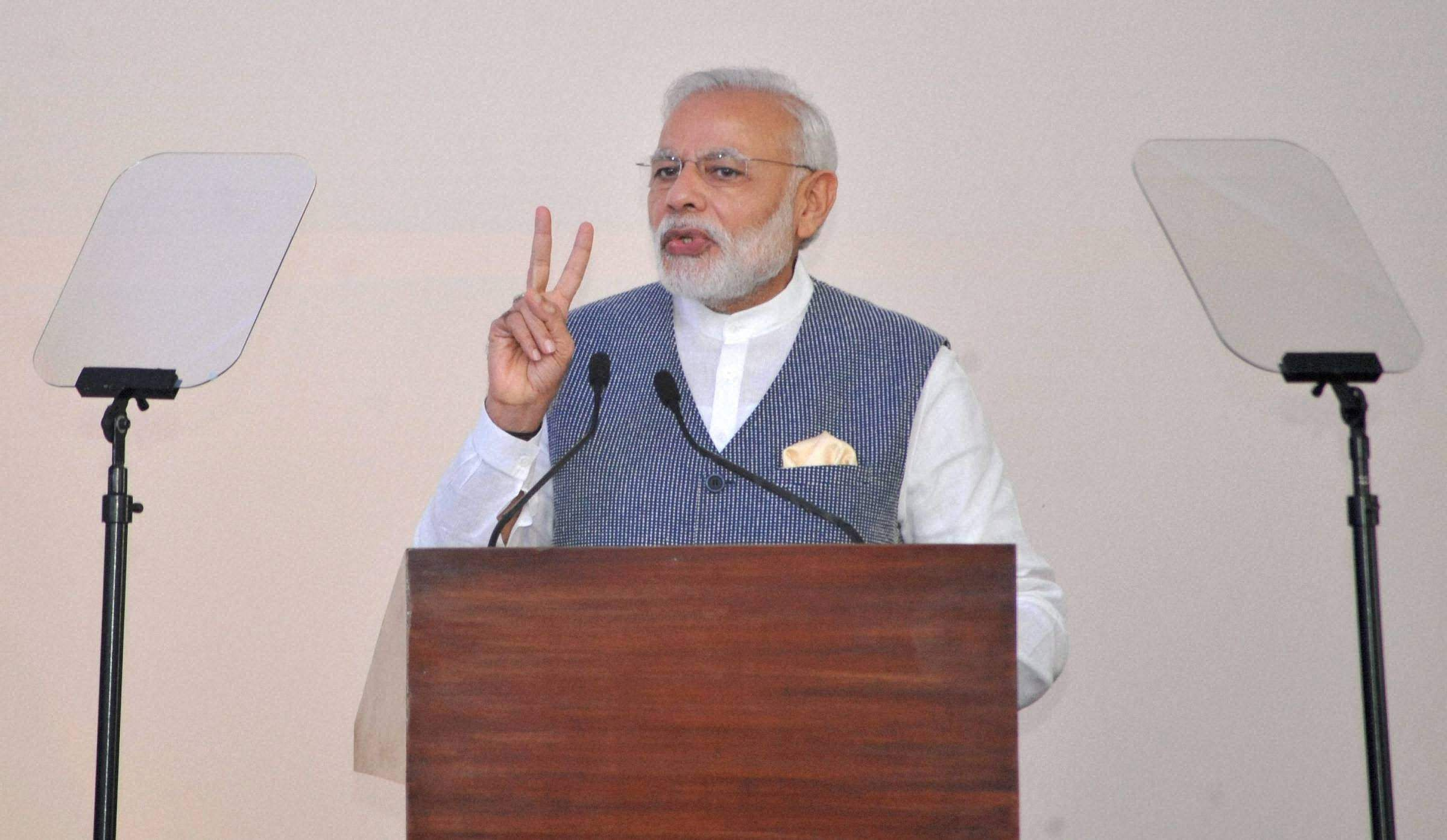 Pm narendra modi to address nation today the new indian - Prime minister of india office address ...