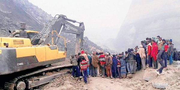 Coal Mine Collapse-PTI