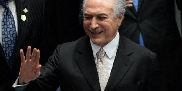 Brazil Michel Temer AFP