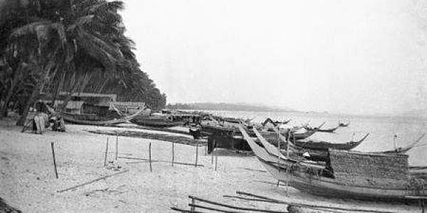 Bachok beach in Kota Baru where the Japanese landed Dec 8,1941.