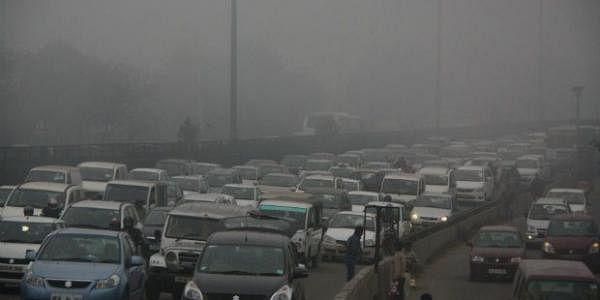 Delhi fog -PTI