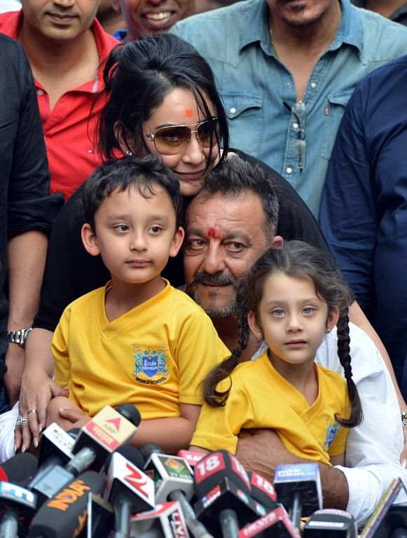 Actor Sanjay Dutt Walks Free After Completing His Jail Term