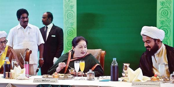 Jaya hosts an