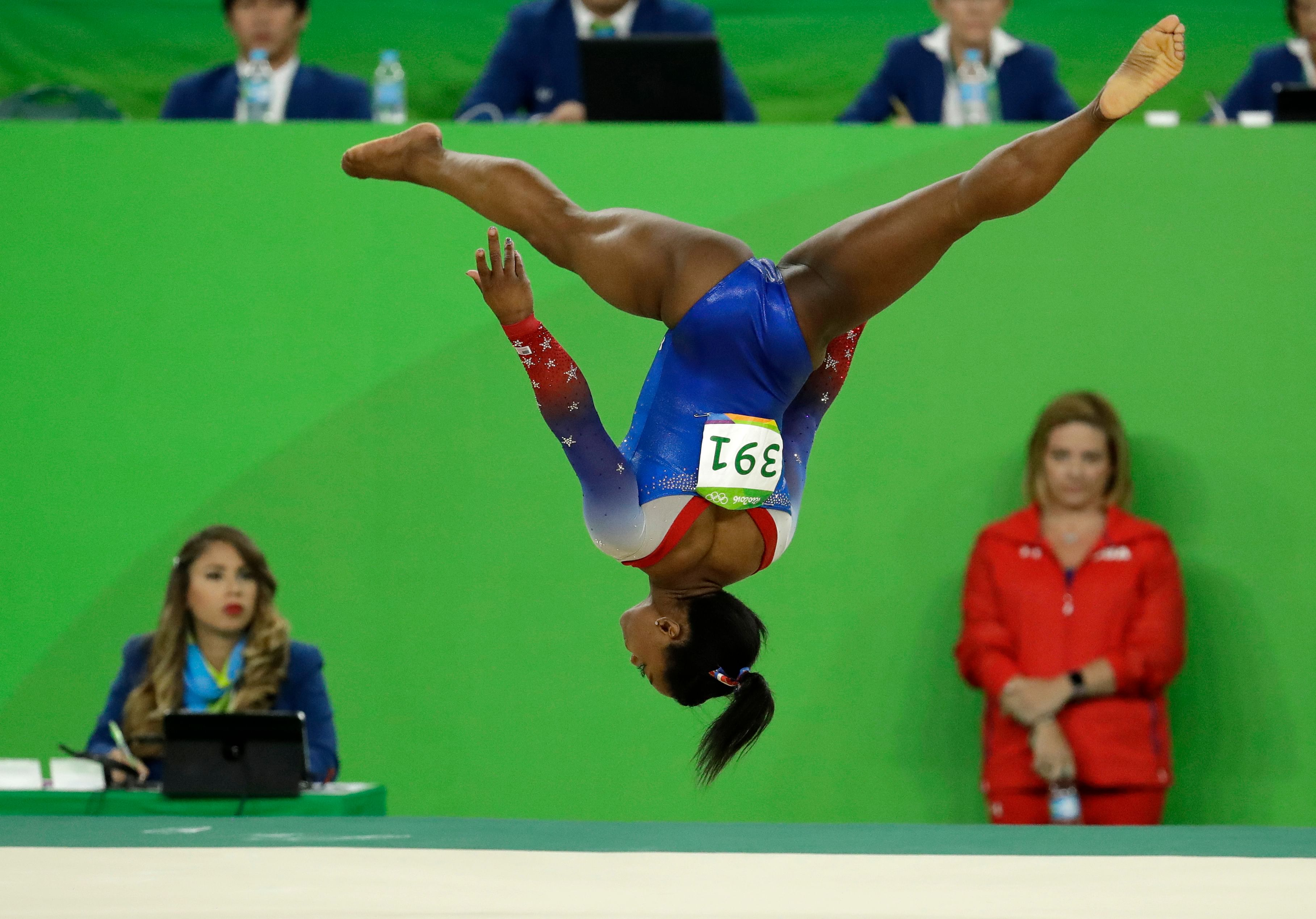 Another Olympic Gold For Gymnast Simone Biles The New
