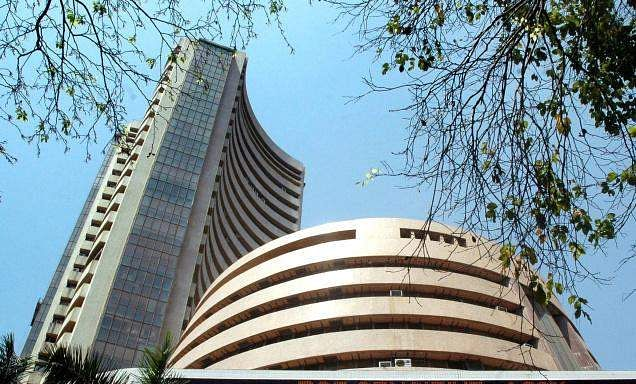 Sensex ends lower; posts best weekly gain in a month