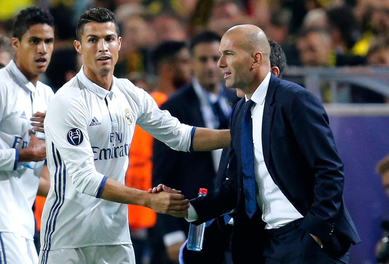 Zidane Tidak Khawatir Akan Hilangnya Ketajaman Ronaldo