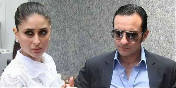 Bollywood actors Kareena Kapoor and Saif Ali Khan (File|PTI)