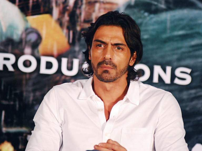 Arjun rampal visits bjp 39 s delhi hq sparks off campaign for Arjun appadurai how to make a national cuisine