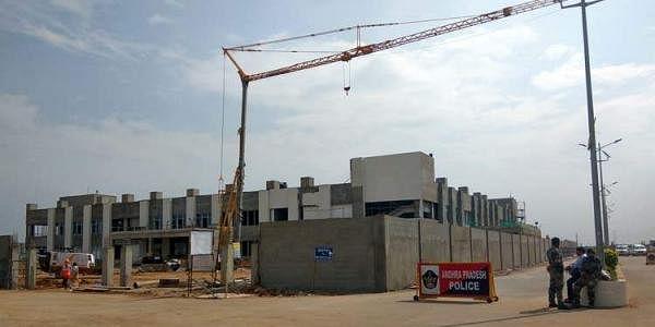 Interim government complex at Amaravati. (Photo   IANS)