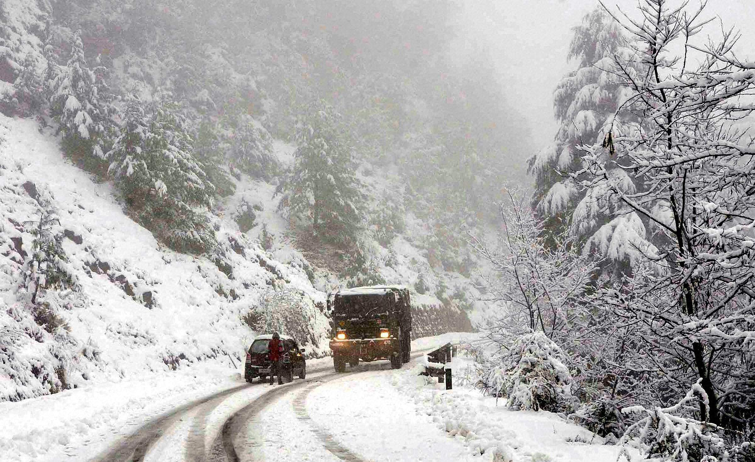 Image result for snow storm Kashmir