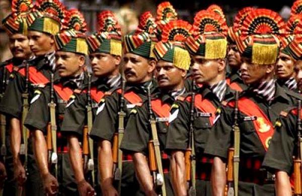 paramilitary of india