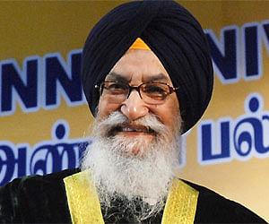<b>Surjit Singh</b> Barnala (File photo/ ENS) - Surjit-Singh-Barnala