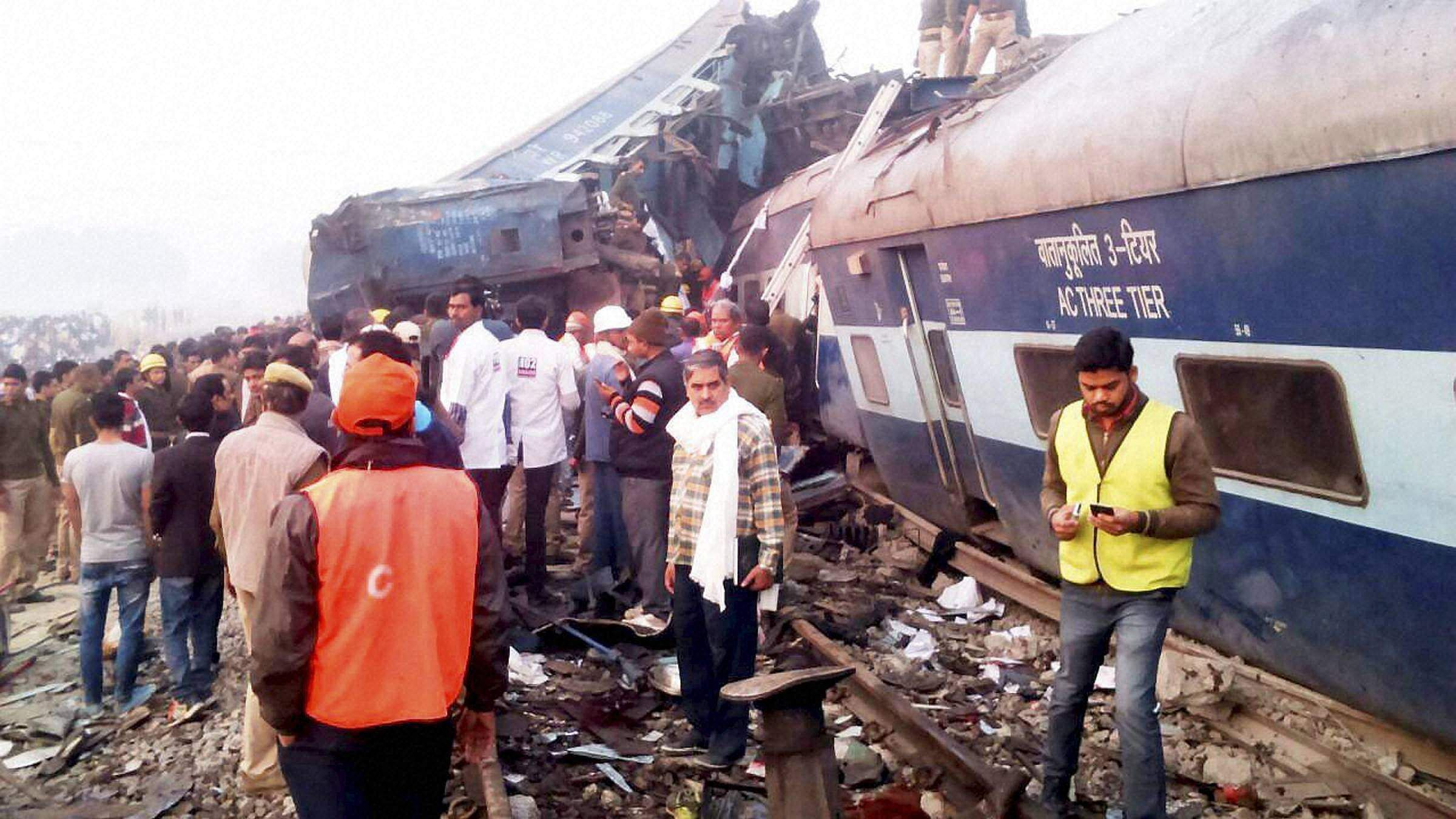 Police suspects ISI links in Kanpur train tragedy