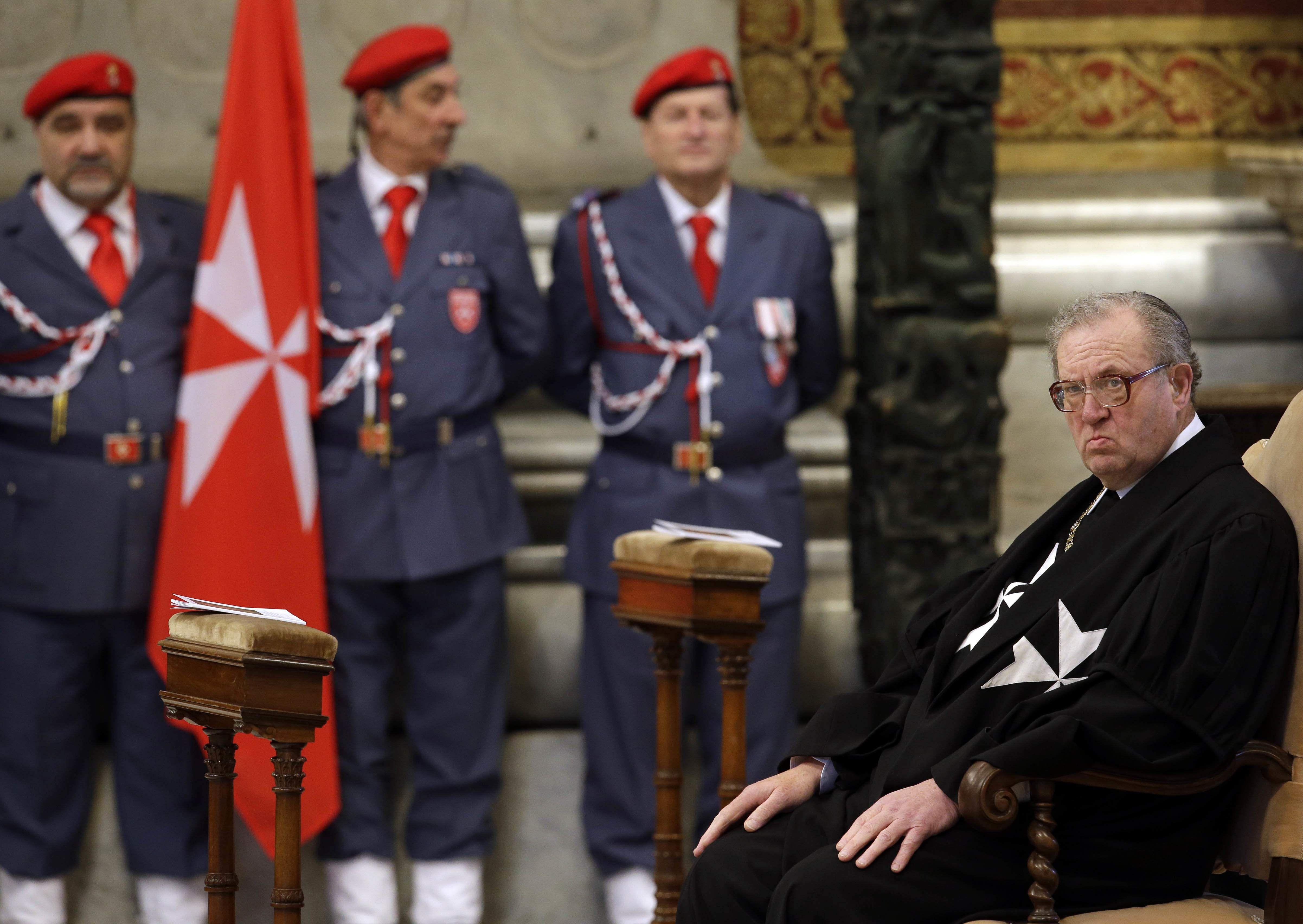 Князь и Великий магистр Мальтийского ордена ушел в отставку