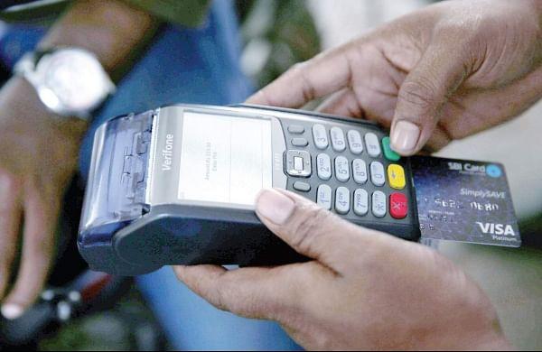 Card swipe machine. (File photo)