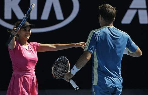 Sania Mirza-Ivan Dodig through to Australian Open mixed doubles final