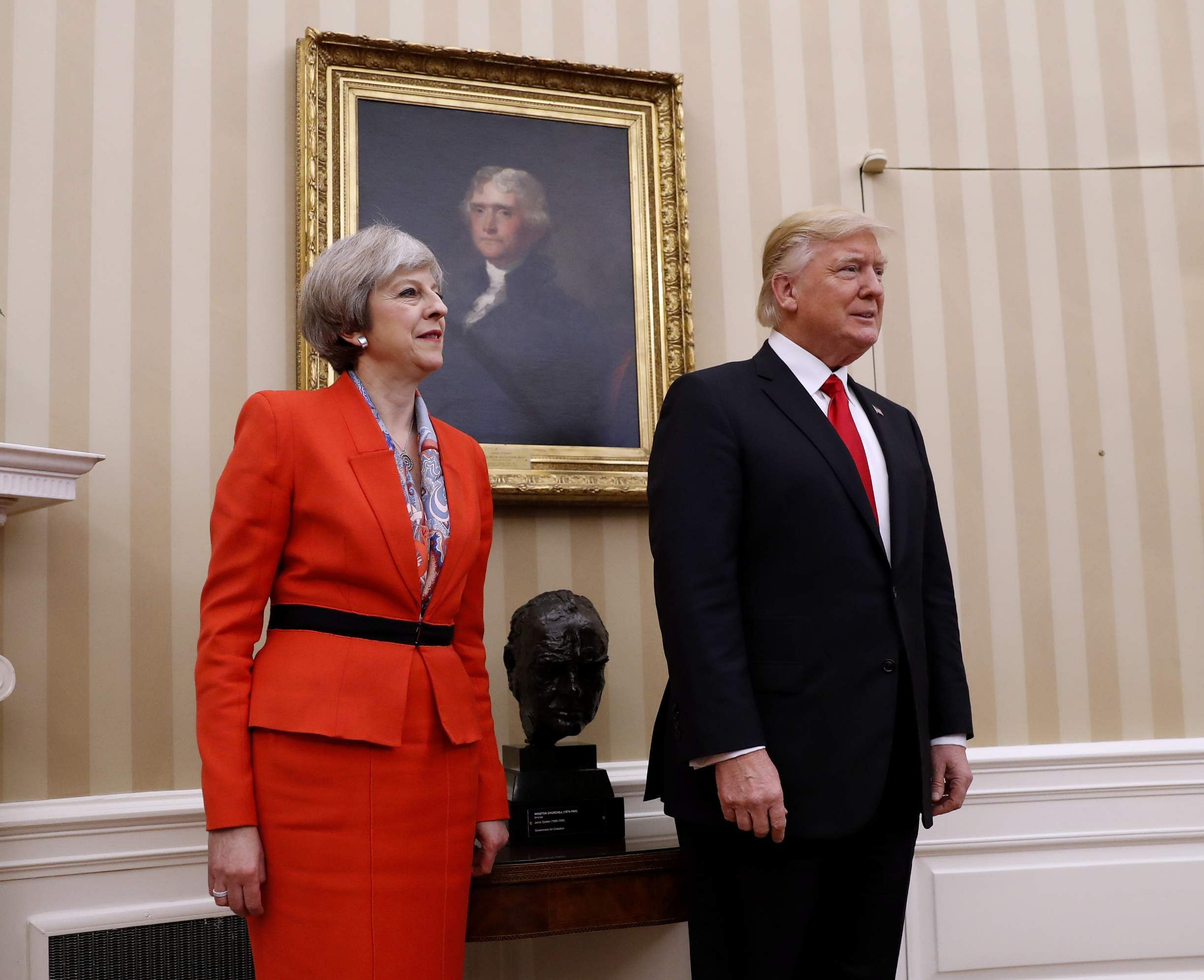 British PM set to meet Trump at the White House