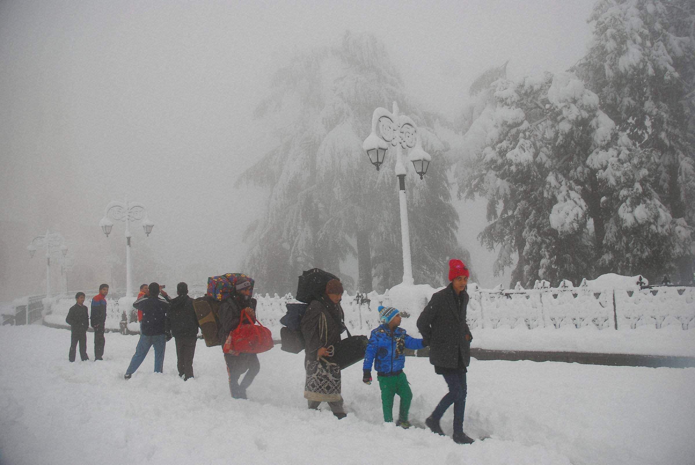 Madrid Snow Storm : Spain warns of sub-zero weather