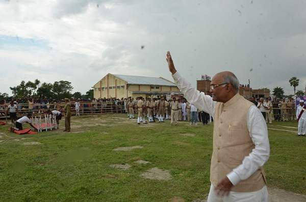 Shri Ram Nath Kovind at Motlupur, Muzaffarpur on July 12, 2016.