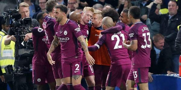 online retailer a4c33 c0d76 English Premier League: Kevin De Bruyne scores winner as ...