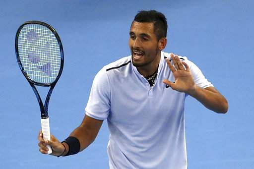 Kyrgios sets up Beijing showdown with Nadal